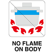 noflame on body