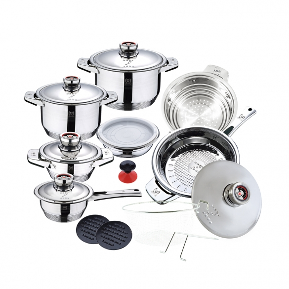 19 pcs cookware set